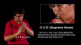 Wind Instruments: Soprano Guan 高音管